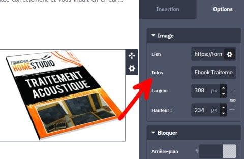 Ajouter une balise ALT à vos images
