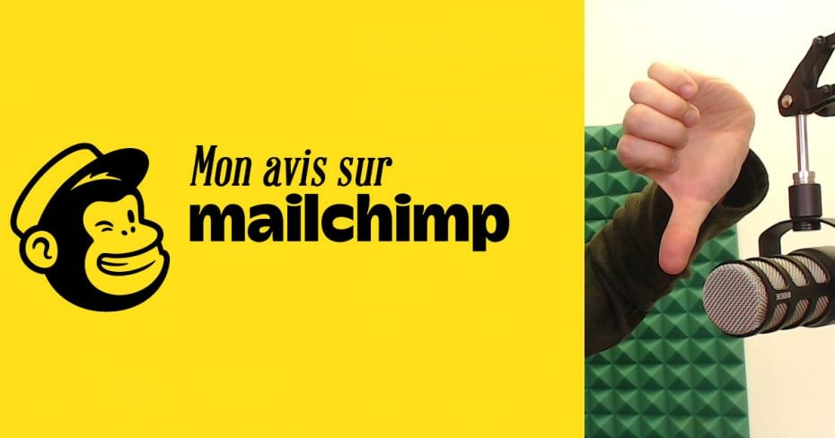 Avis sur MailChimp